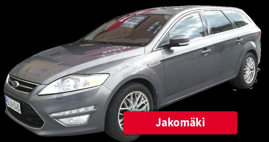 Auton vuokraus Jakomäki