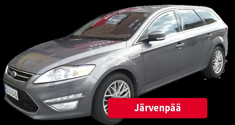 Auton vuokraus Järvenpää