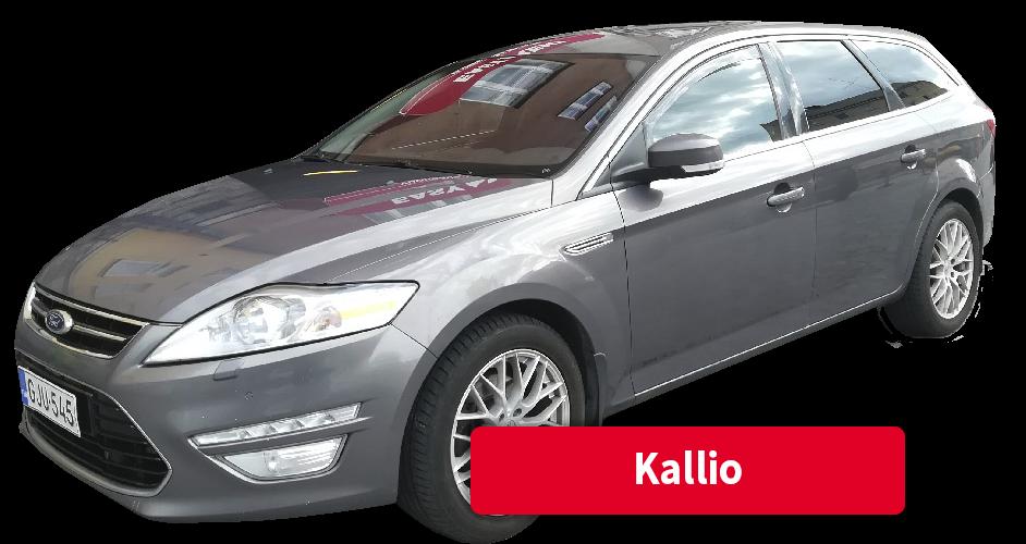 Auton vuokraus Kallio