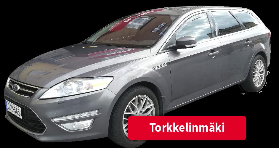 Auton vuokraus Torkkelinmäki