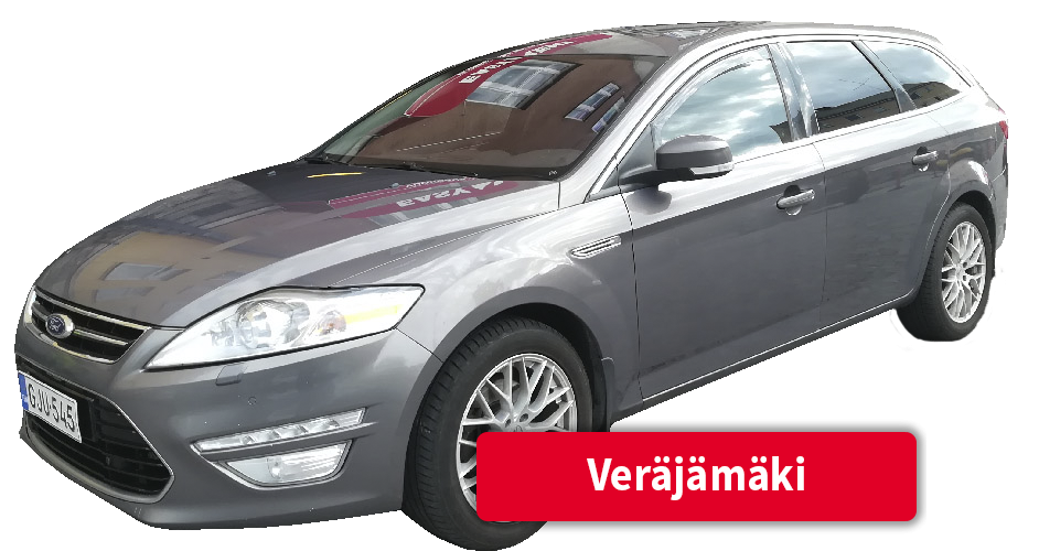 Auton vuokraus Veräjämäki