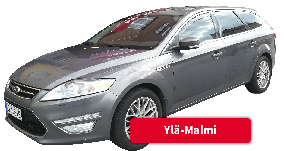 Auton vuokraus Ylä-Malmi