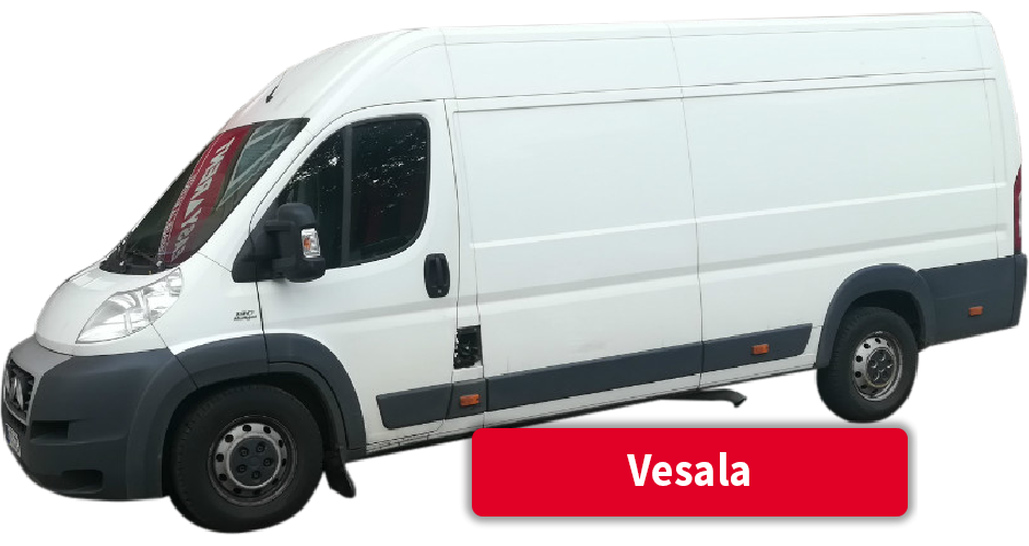 Pakettiauton vuokraus Vesala
