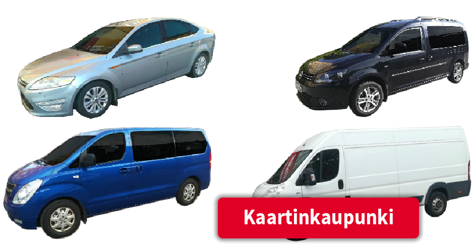 Vuokra-autot Kaartinkaupunki