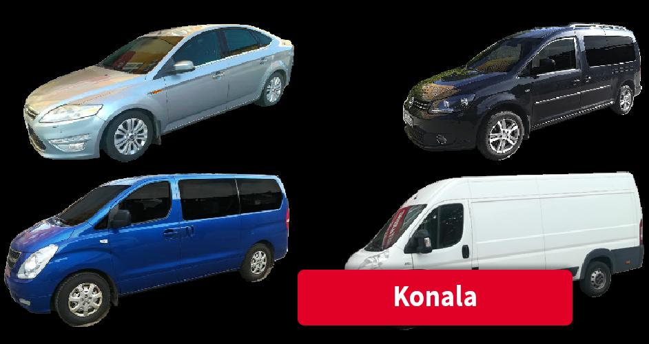 Vuokra-autot Konala