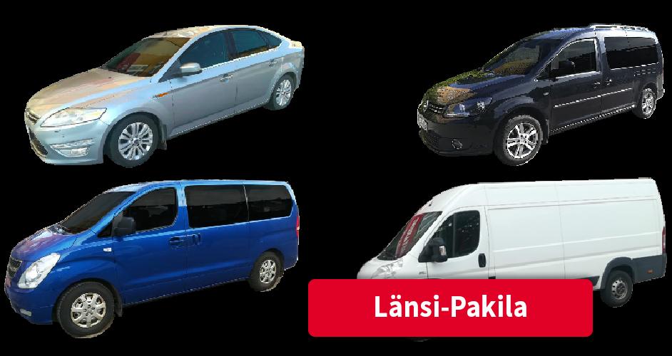 Vuokra-autot Länsi-Pakila