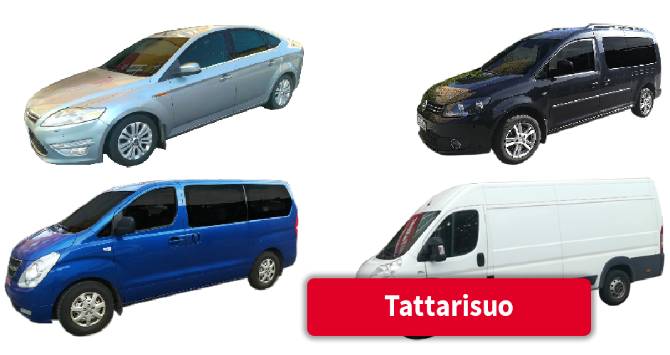 Vuokra-autot Tattarisuo